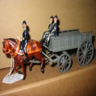 Britains Army Service Corps. Two-Horse Wagon